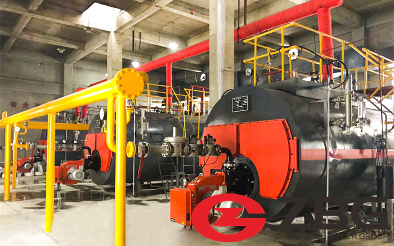 10 Ton Oil Fired Boiler in Angola image