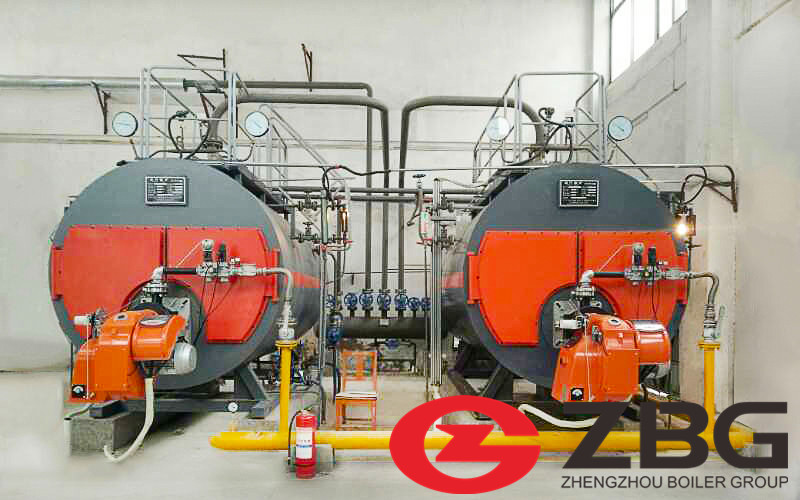 4ton Gas Fired Steam Boiler in Thailand image