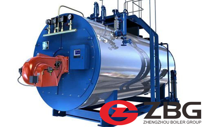 Horizontal Oil Gas Fired Boiler in Greece image